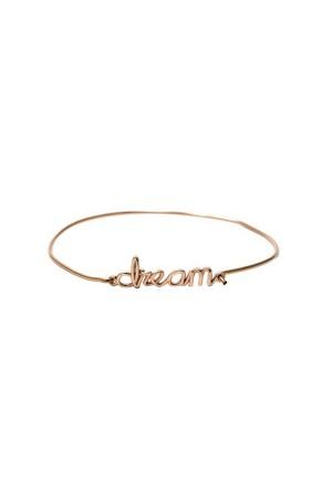 BAZAAR - DREAM - Motto Bileklik