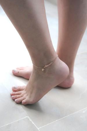 BAZAAR - DREAM - Ankle Bracelet (1)
