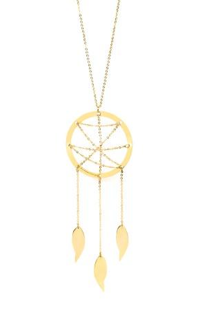 PLAYGROUND - DREAMCATCHER - Long Chain Necklace