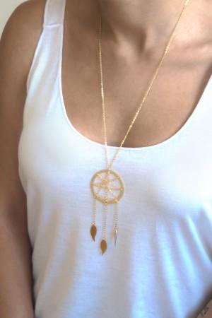 PLAYGROUND - DREAMCATCHER - Long Chain Necklace (1)