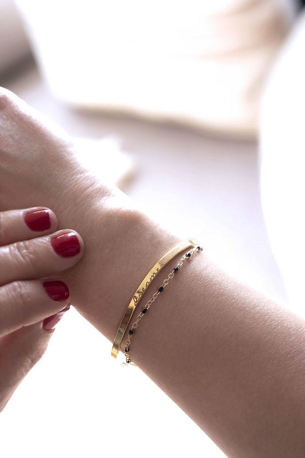 DREAMER - Cuff Bracelet