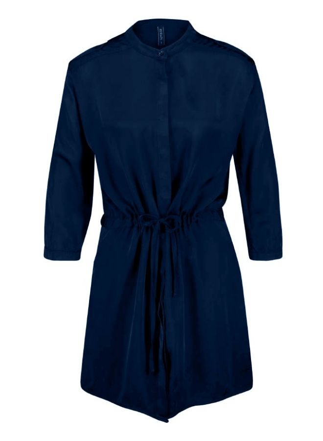 DREAS DRESS - Düğmeli Basic Elbise