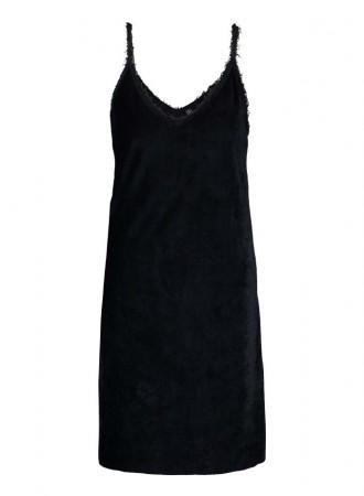 BRAEZ - DUST DRESS - Velvet Look Dress