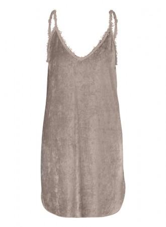 BRAEZ - DUST DRESS - Velvet Look Dress (1)