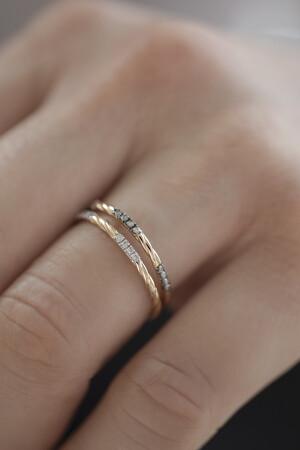 PETITE LUXE - ELDA - Brown Diamond Ring (1)