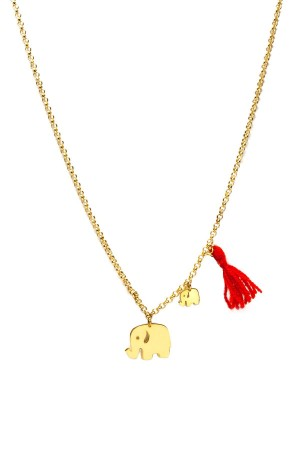 PLAYGROUND - ELEPHANTS - Tasseled Necklace