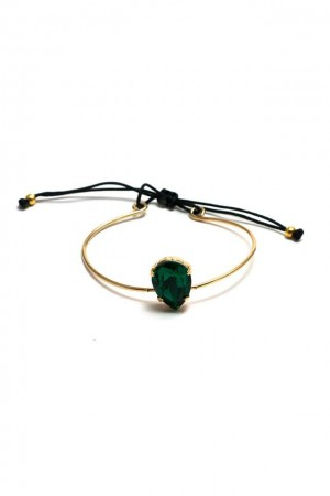 BAZAAR - EMERAULT - Wire Bangle Bracelet