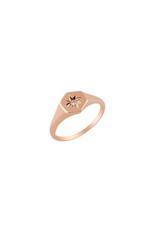 PETITE LUXE - EMPIRE - Star Set Diamond Ring
