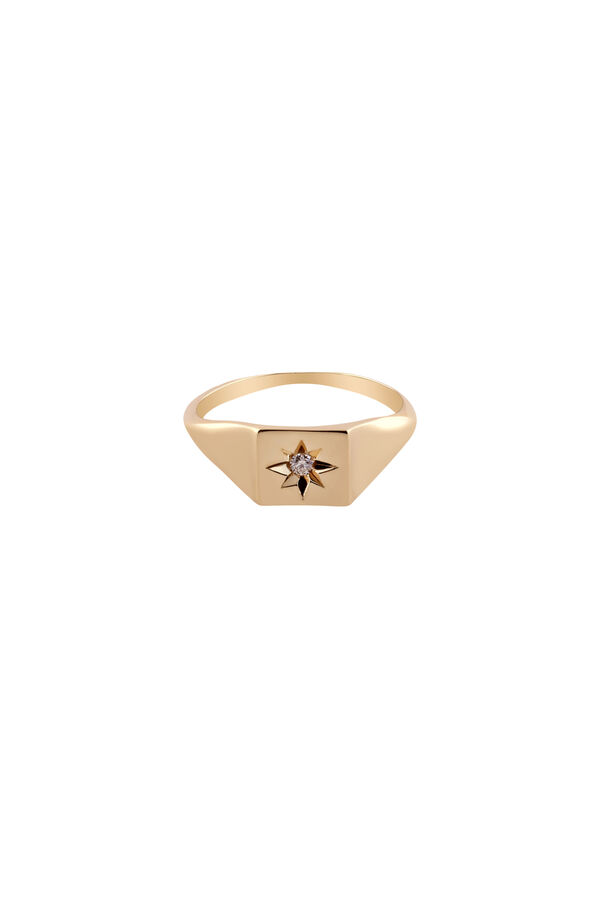ESTRELLA - 14 Ayar Altın Serçe Parmak Yüzüğü