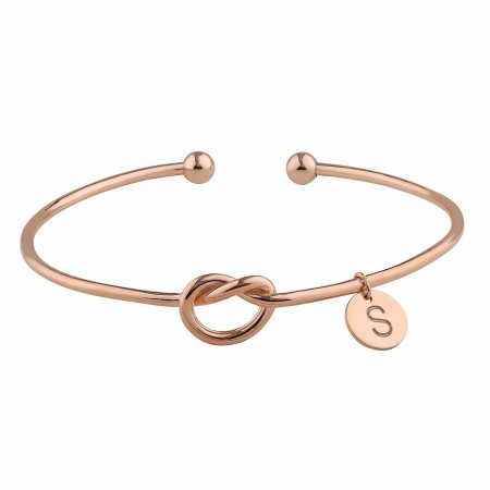 PETITE JEWELRY - ETERNAL INITIAL - Love Knot Bracelet
