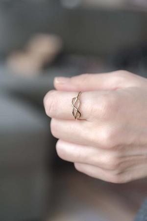 ETERNAL LOVE - Gümüş Yüzük - Thumbnail