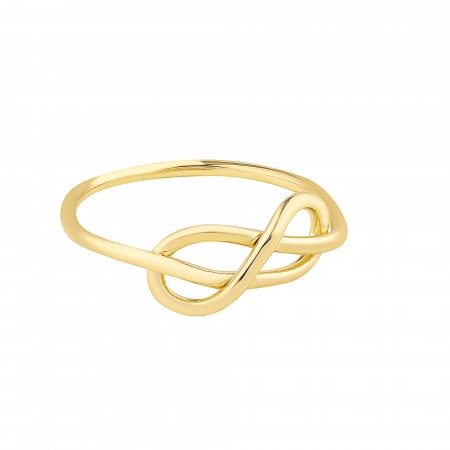 PETITE JEWELRY - ETERNAL LOVE - Silver Ring (1)