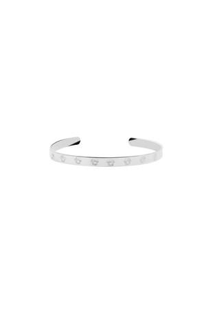 EYES ON ME - Eye Engraved Cuff Bracelet - Thumbnail