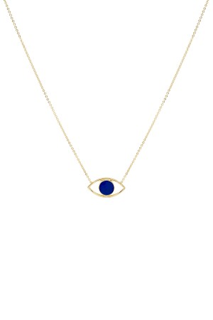 COMFORT ZONE - FACE OFF - Two Sided Eye Necklace (1)