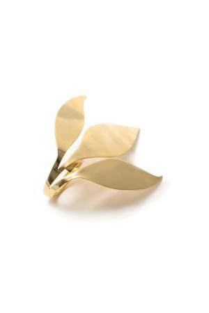 SHOW TIME - FALLING LEAVES - Altın Kaplama Yüzük