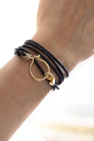 SHOW TIME - FANG - Wrap Cord Bracelet (1)