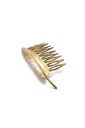 BAZAAR - FEATHER - Hair Comb