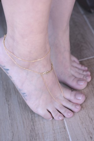 SHOW TIME - FINE - Barefoot Sandal (1)