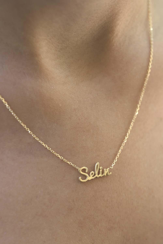 FINE WRITTEN - Hand Script Customized Name Necklace