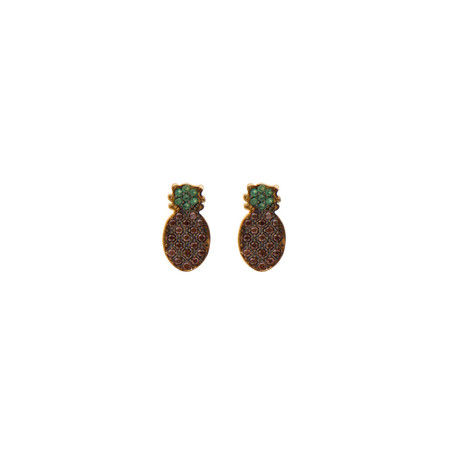PLAYGROUND - FINEAPPLE - CZ Pineapple Studs