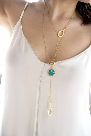 COMFORT ZONE - FINE THINGS - Lariat Necklace (1)