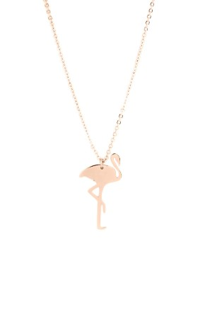 PLAYGROUND - FLAMINGO ROSE - Pendant Necklace