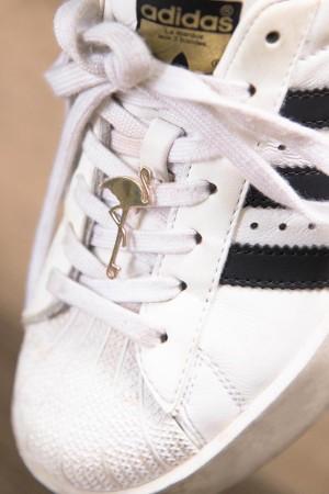 BAZAAR - FLAMINGO - Shoe Pin (1)