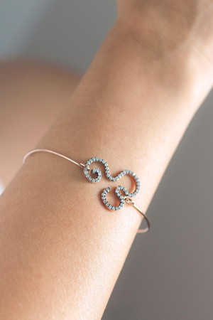 COMFORT ZONE - FLOW - Bangle Bracelet (1)
