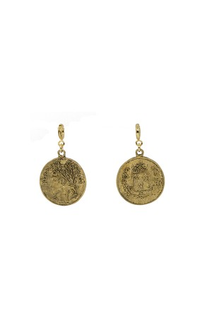 PETIT CHARM - FRANCES - Antique Medallion