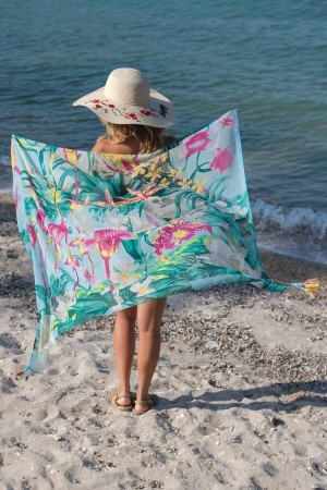 HAPPY SEASONS - FUN TIMES - Beach Cover up (1)