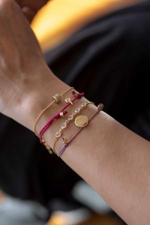 COMFORT ZONE - FUSCHIA - Stackable Set of Bracelet