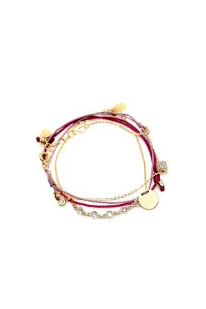 COMFORT ZONE - FUSCHIA - Stackable Set of Bracelet (1)