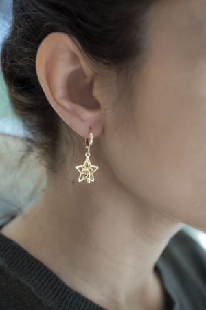 PLAYGROUND - GALAXY - Star Earrings (1)