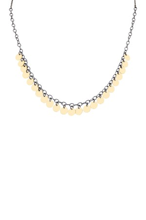 COMFORT ZONE - GINA - Coin Necklace (1)