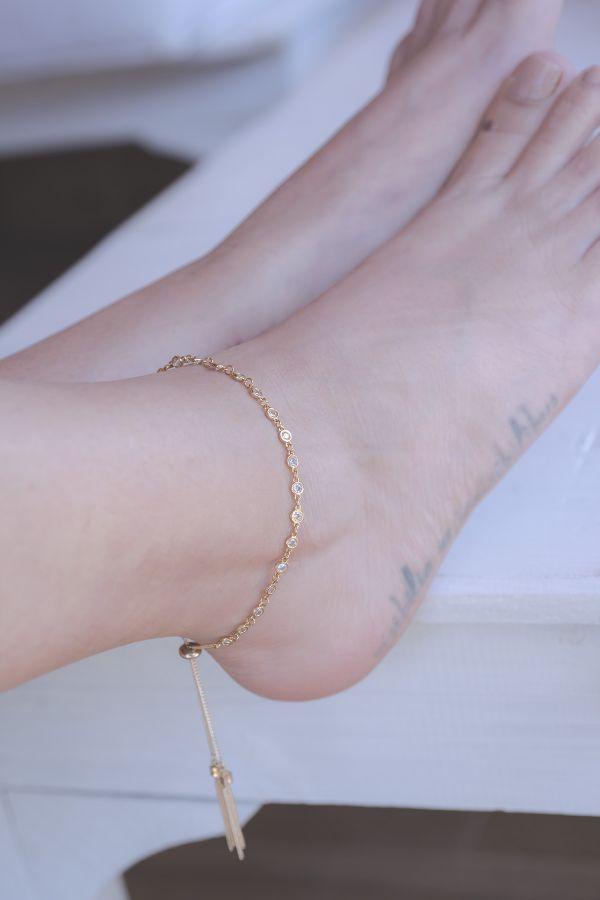GLAMOUR - Adjustable Anklet