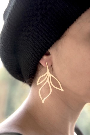 PLAYGROUND - GOLDEN BRANCH - Stud Earrings (1)