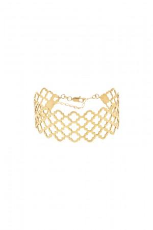 PETITE JEWELRY - GOLDEN CAGE - Cuff Bracelet