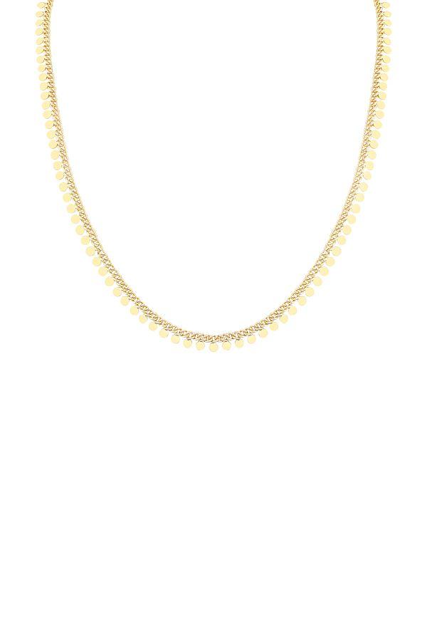 GOLDEN DOTS - Chain Necklace