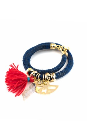 PLAYGROUND - GOLDEN FUN - Wrap Bracelet