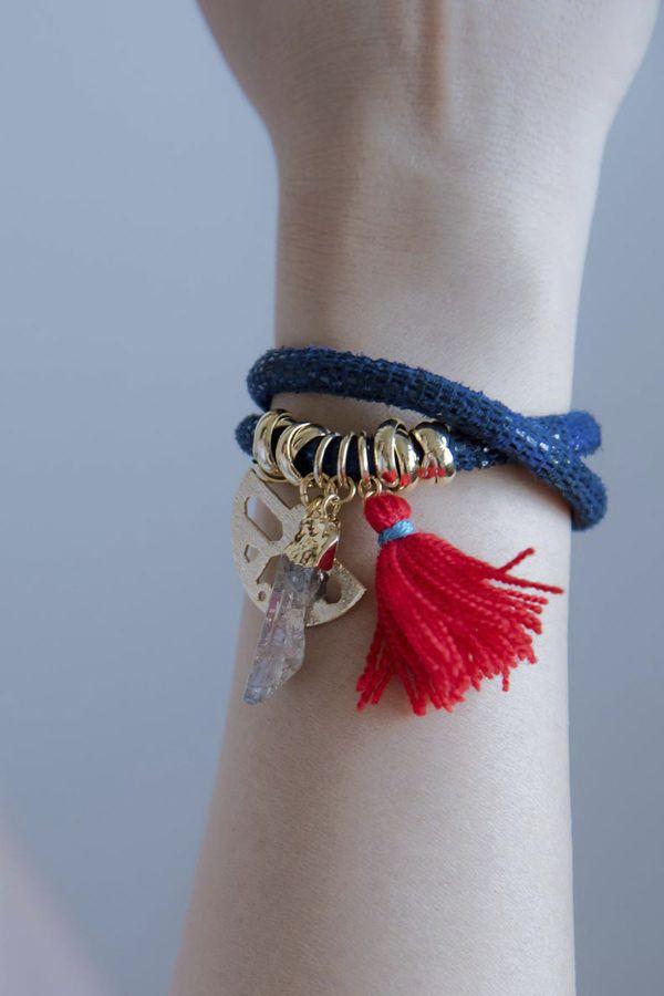 GOLDEN FUN - Wrap Bracelet