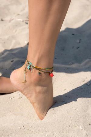 PLAYGROUND - GOLDEN GREEN ANKLET - Anklet (1)