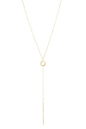 COMFORT ZONE - GOLDEN O - Bar Y Necklace