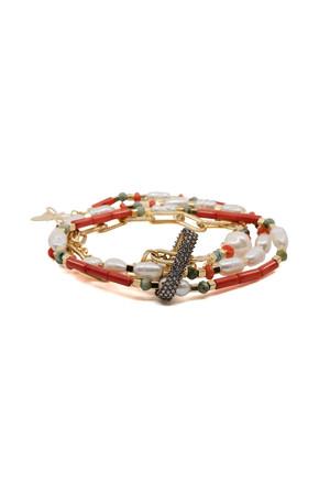 SHOW TIME - GRACEFULLY - Multilayered Bracelet