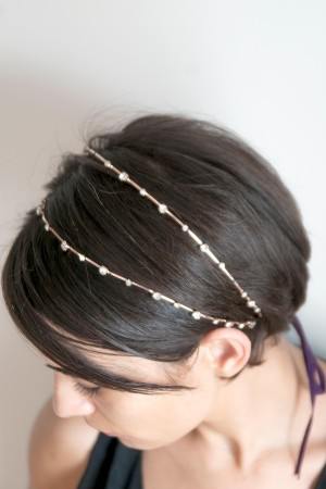 SHOW TIME - GREEK - Rose Gold Head Piece (1)