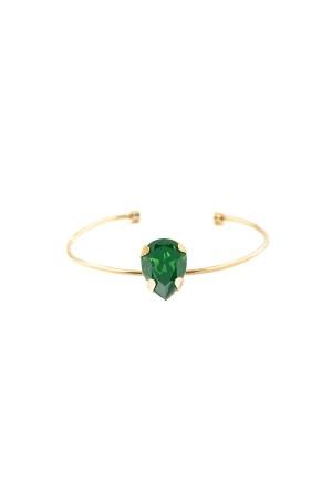 PLAYGROUND - GREEN DROP - Cuff Bracelet