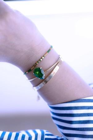 PLAYGROUND - GREEN DROP - Cuff Bracelet (1)