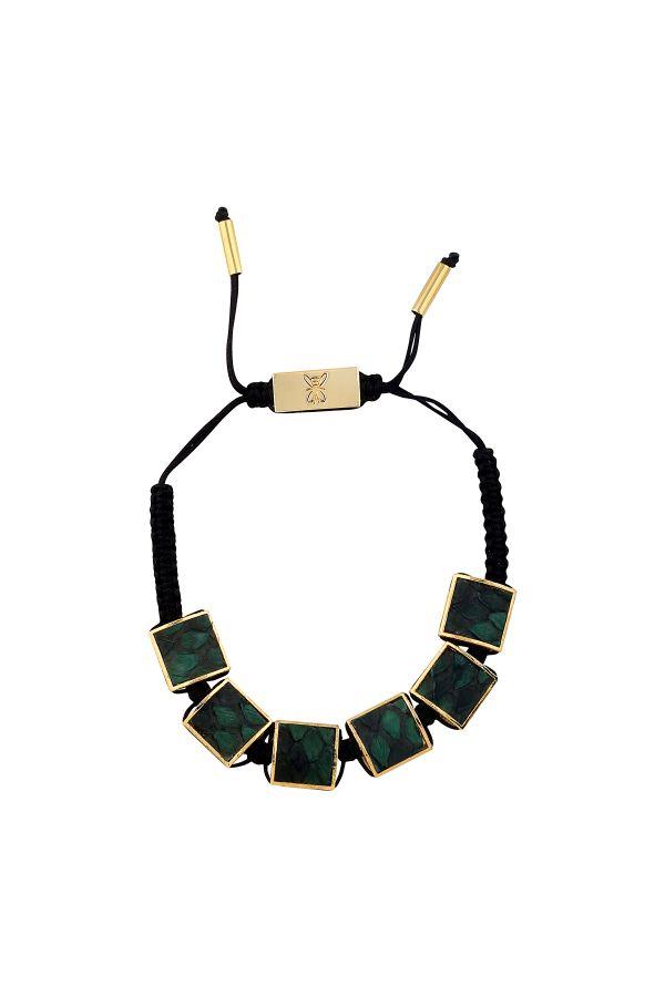GREEN SNAKE - Men's Bracelet