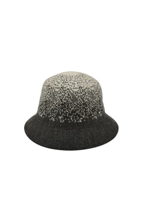 GREY - Grey Wool Hat - Thumbnail