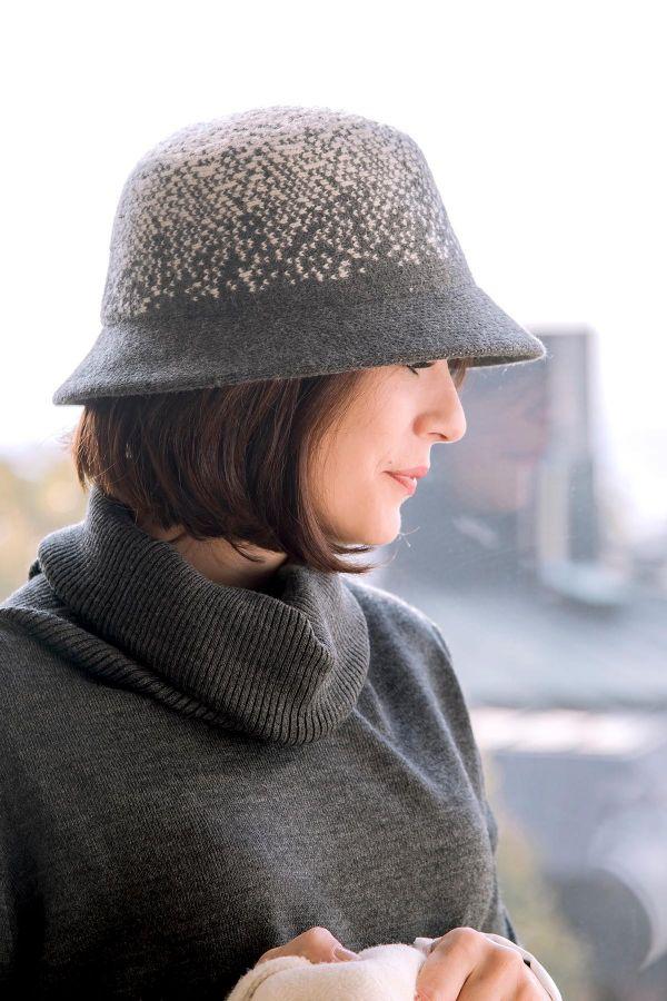 GREY - Yün Şapka