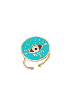 PLAYGROUND - GUARDIAN - Multicolor Eye Ring